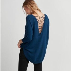 🍂 New! Express Lace Up Back Sweater